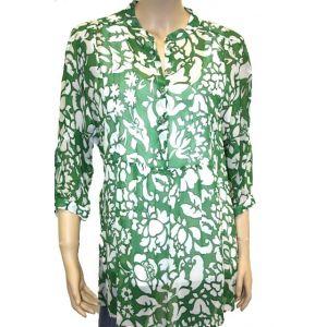 Adelina  Damen Tunika ó Arm florales Muster 84459.