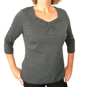 Delmod Damen T-Shirt 3/4 Arm