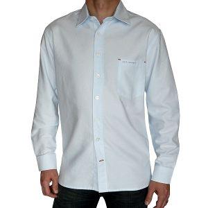 Sylt lounge Herren Oxford Hemd, Langarm 07100