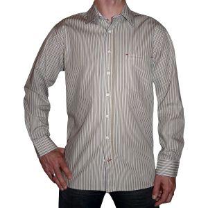 Sylt Lounge Herren Streifendesign Hemd 07103