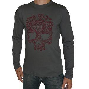 Tom Tailor Herren Langarm T-Shirt Rundhals