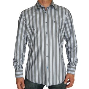 Tom Tailor Herren Hemd Langarm Streifen