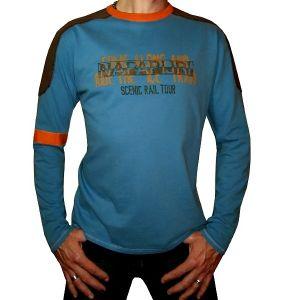 Napapijri Herren T-Shirt, Long-sleeves NOVJXC378 Jolimont