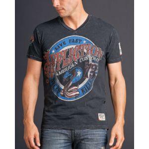 Affliction Herren T-Shirt -Kiss of Deat- 5251
