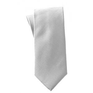 MIJAS Krawatte Design 3 silver