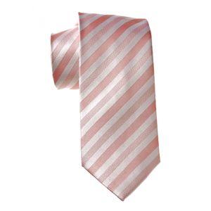 MIJAS Krawatte Design 5 rose/white