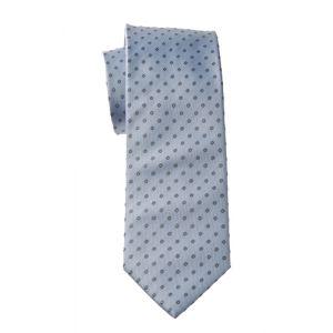 MIJAS Krawatte Design 8 sky/anthracit