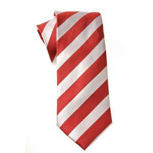 MIJAS Krawatte Design 9 red/white