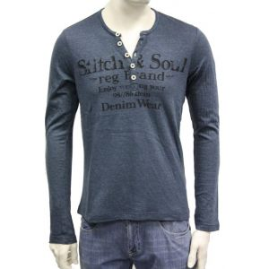 Stitch & Soul Herren Longsleeve H6900S20191A