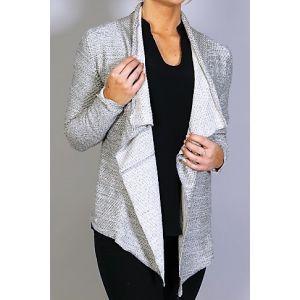 Fresh Made Damen Sweat-Cardigan D1025V01209A